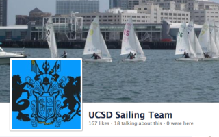 UCSD Sailing Team Facebook Page