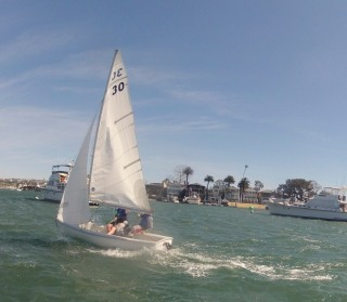 UCSD Sailing Team Sails Fast