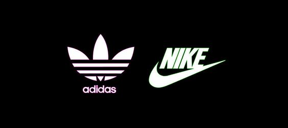 Adidas and Nike Logos