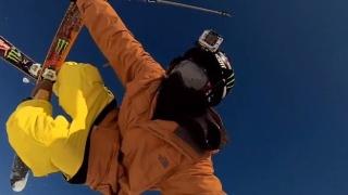 GoPro Ski Pic