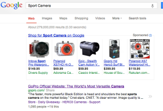Search Engine Optimization and GoPro